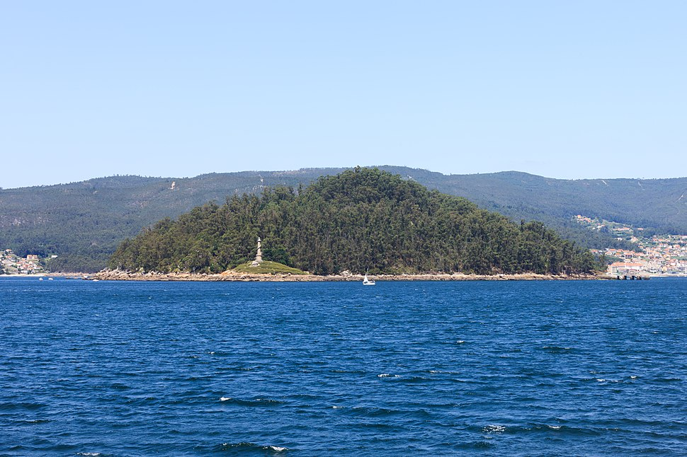 Illa de Tambo. Marín. Galiza