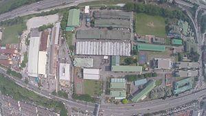Institut Latihan Perindustrian Kuala Lumpur - Aerial view of ILPKL campus.