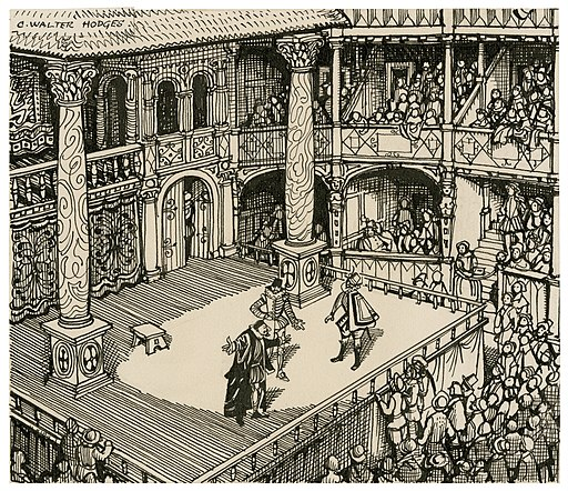 https://upload.wikimedia.org/wikipedia/commons/thumb/e/e1/Imaginary_view_of_an_Elizabethan_stage.jpg/512px-Imaginary_view_of_an_Elizabethan_stage.jpg