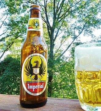 Costa Rican cuisine - Imperial beer