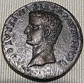 Impero, augusto, sesterzio in oricalco (lione), 10 dc.JPG