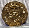 Impero romano d'oriente, leone V, emissione aurea, 813-820.JPG