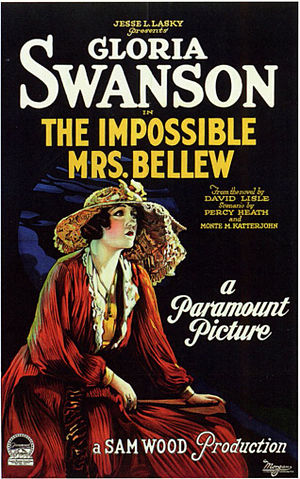 The Impossible Mrs. Bellew - Film poster