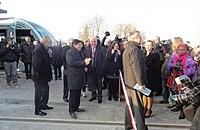 Inauguration de la branche vers Vieux-Condé de la ligne B du tramway de Valenciennes le 13 décembre 2013 (080).JPG