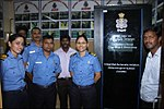 Inauguration of Integrated Automatic Aviation Meteorological Systems (IAAMS) at INS Garuda 04.jpg
