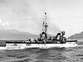 Italian cruiser Muzio Attendolo - Image: Incrociatore Muzio Attendolo