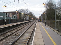Ingatestone 1st railway station (site), Essex (geograph 3424499).jpg