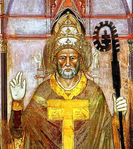 Innocent VI par Andrea di Bonaiuto 1365