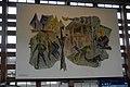 Innsbruck Hauptbahnhof, nördliches Max Weiler Bild.JPG