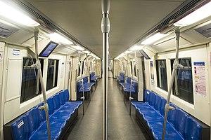 MRT (Bangkok) - Inside of the train