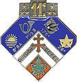 Insigne de la 11e Division d'Infanterie, DIVISION de FER.jpg