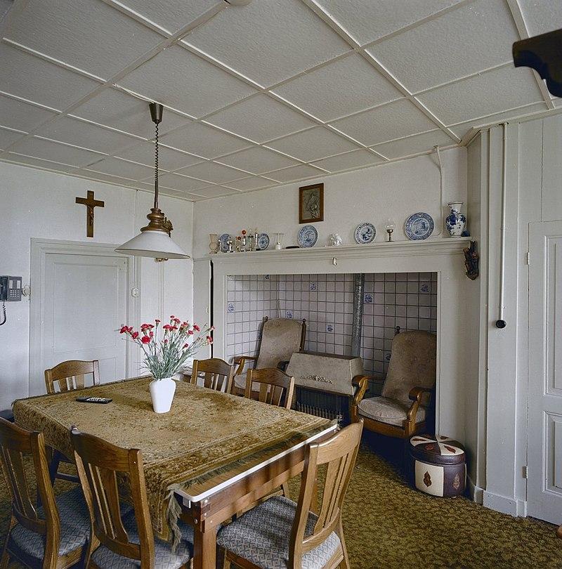 Boerderij van het brabantse langgeveltype met schuur van for Interieur huiskamer