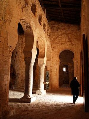 Monasteries of San Millán de la Cogolla - Image: Interior del Monasterio de San Millan de Suso