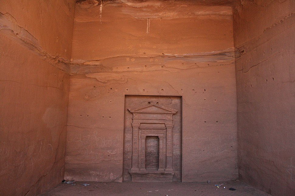 Interior of the Street of Facades, Petra, Jordan11