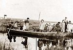Inuit at Moravian Mission Station at Kuskokwim-River 1900.jpg
