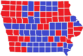 Iowa Presidential Election Results by County, 1976.png