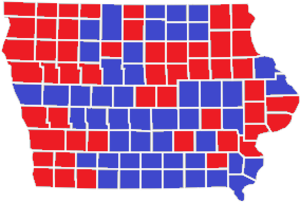 United States presidential election in Iowa, 1976