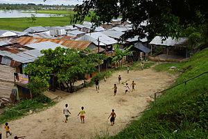 Itaya River - Image: Iquitos Itaya Futbol