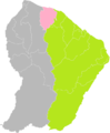 Iracoubo (Guyane) dans son Arrondissement.png