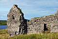 Ireland 2009, Clonmacnoise castle ruins.jpg