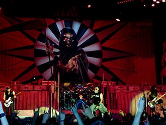 "Dance of Death (album) - Iron Maiden performing ""Dance of Death"" in 2011."
