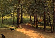Irvington Woods by Albert Bierstadt.jpg