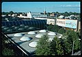 Irwin Union Bank & Trust Company, Columbus, Indiana, 1950-57. Aerial view - 00223v.jpg