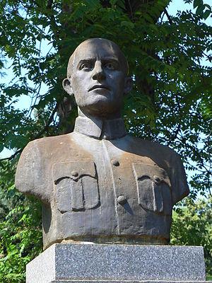 Ivan Mihailov - Ivan Mihailov's monument in Sofia