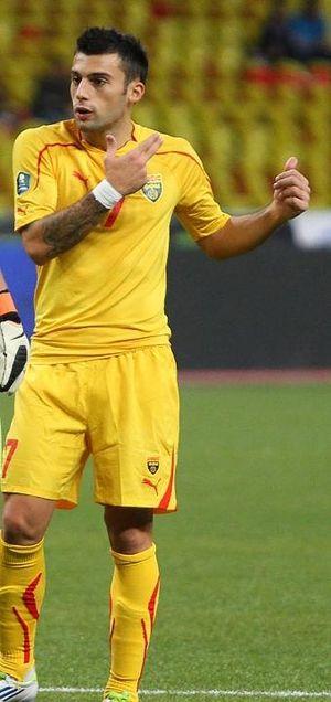 Ivan Tričkovski - Tričkovski with Macedonia in 2011
