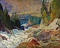 J.E.H. MacDonald - Falls, Montreal River - Google Art Project.jpg