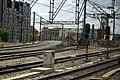 J28 692 Madrid, Zulaufstrecke zum Regelspurstadttunnel.jpg