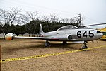 JASDF T-33A(51-5645) right front view at Komaki Air Base March 3, 2018.jpg