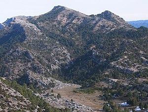 Battle of Bailén - The Sierra Morena.