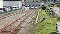 JR Hidaka-Main-Line Samani Station Bollard.jpg