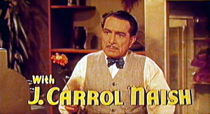 J. Carrol Naish - from the trailer for Hit the Deck (1955)