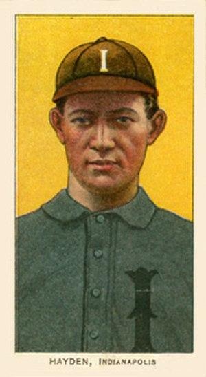 Jack Hayden (baseball) - Image: Jack Hayden 1909 1911