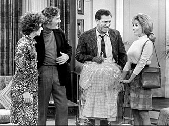 The Odd Couple (1970 TV series) - When Oscar introduces Felix's ex-wife, Gloria, to his girlfriend, Nancy, and her brother, Ray, trouble erupts when Gloria starts dating Ray.
