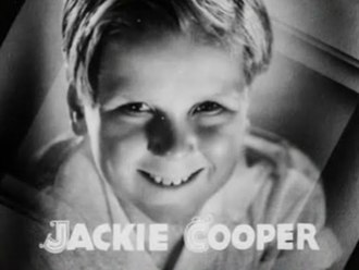 Jackie Cooper - Cooper as he appeared in the film Broadway to Hollywood, 1933