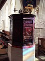 Jacobean Pulpit at the Church of St Margaret of Antioch - geograph.org.uk - 330890.jpg