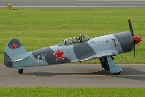 Yakovlev Yak-3 - Image: Jak 3U