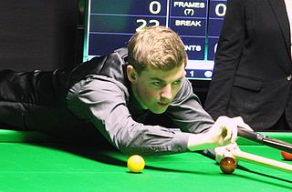 James Cahill (snooker player) British snooker player