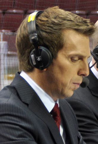 James Duthie (sportscaster) - Duthie at the 2010 Winter Olympics