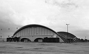 Delmar Fieldhouse - Image: James M. Delmar Fieldhouse, Houston, Texas 1309271512BW (9974814564)