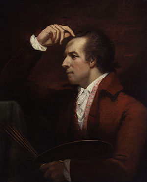 James Northcote - Self-portrait (1784; National Portrait Gallery, London).