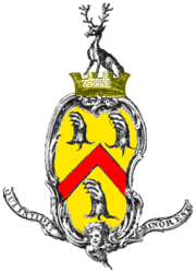Jane Austen's family coat of arms (click on image for more information).