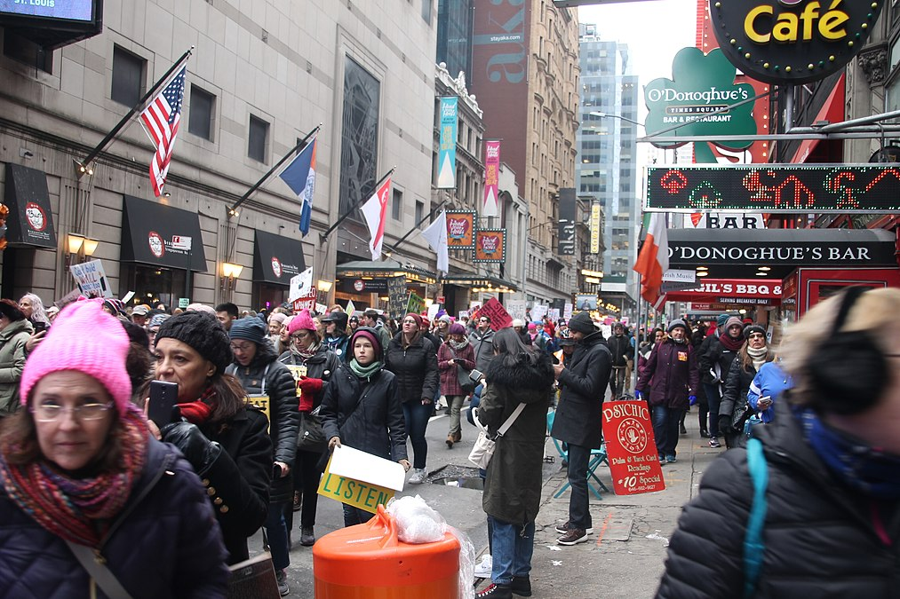 January 2019 Women's Alliance march in NYC (46806344681).jpg