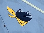 Japanese common toad tail marking of a 301st Tactical Fighter Squadron Japan Air Self-Defense Force F-4EJ Phantom II.jpg
