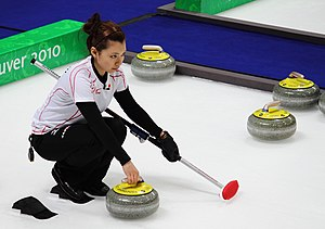 Japanese curler at Olympics 2010.jpg