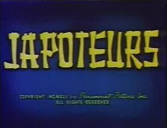 Superman (1940s cartoons) - Japoteurs was the first Superman short to be produced by Famous Studios.