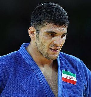 Javad Mahjoub Iranian judoka